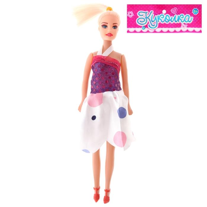 """Кукла модель """"Стелла"""" в платье, МИКС"""