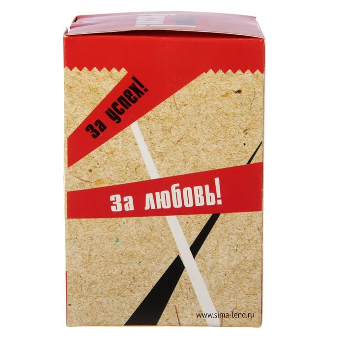 """Стакан граненый """"СК РФ"""", 250 мл"""