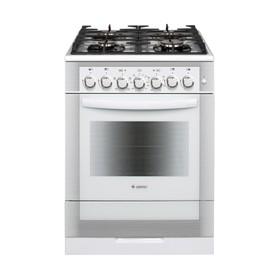 Плита комбинированная Gefest 6502-02 0042, 4 газовые конфорки, 55 л, эл. духовка, белая