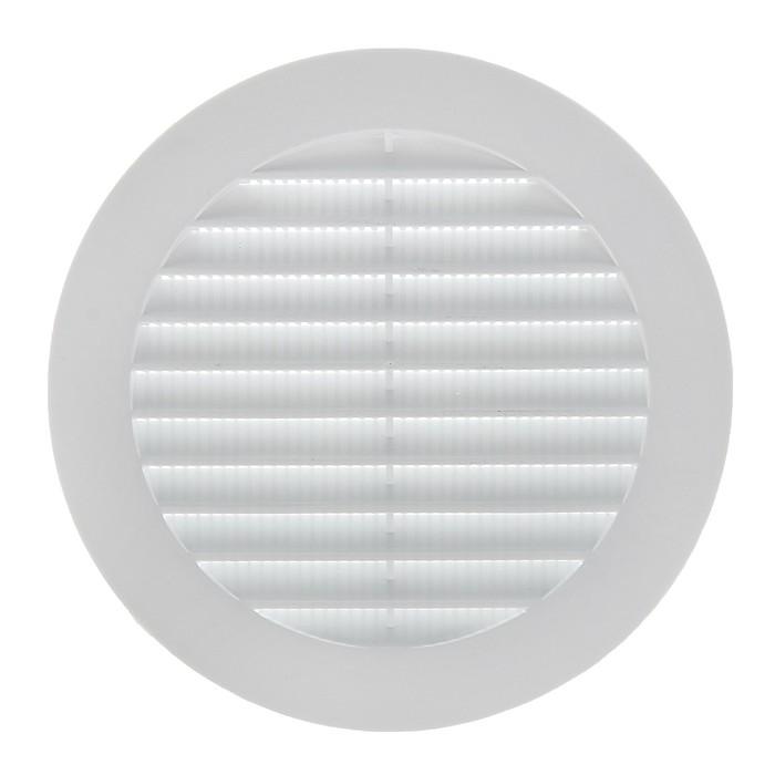 Решетка вентиляционная ERA 10 РКС, круглая, с сеткой, d=100 мм