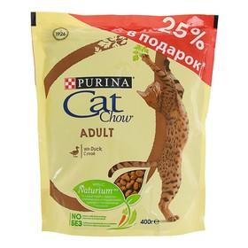 Акция 25%! Сухой корм CAT CHOW для кошек, утка, 400 г
