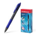 Ручка гелевая автоматическая Erich Krause SMART-GEL, узел 0.5 мм, чернила синие, длина линии письма 500м