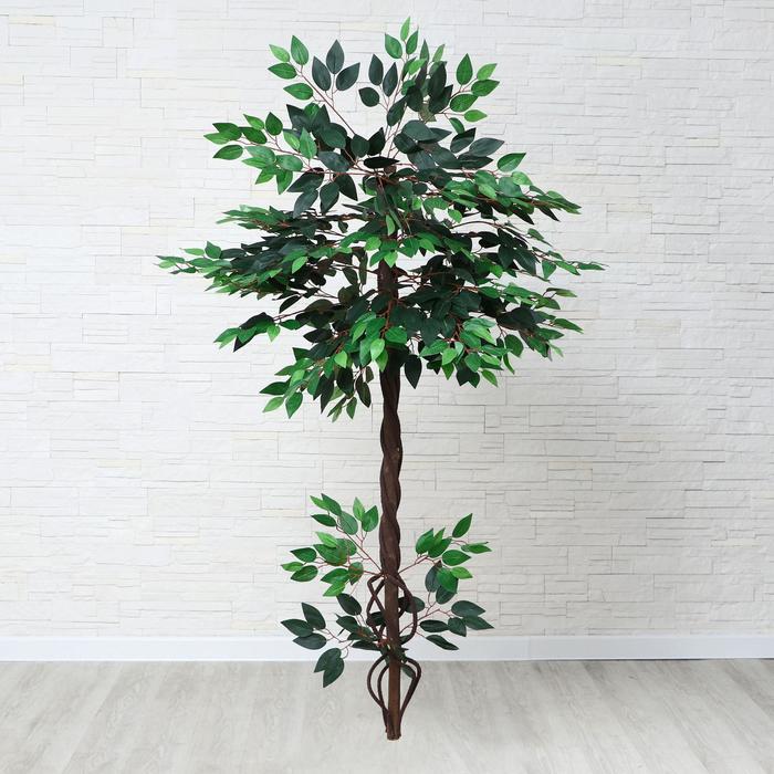 дерево искусственное с корнями 140 см МИКС - фото 936792