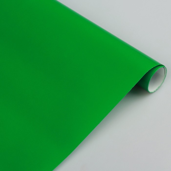 Бумага цветная Лакированная в рулоне 500*2000 мм Sadipal зеленая 6166