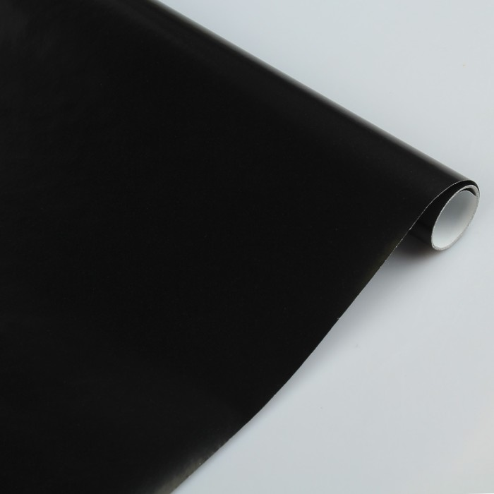 Бумага цветная Лакированная в рулоне 500*2000 мм Sadipal черная 6169