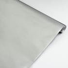 Бумага цветная металлизированная, в рулоне 0.5 х 2.0 м, Sadipal, 65 г/м², серебряный