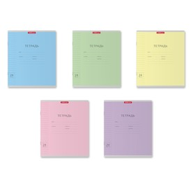 Notebook 24 sheets line