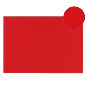 Картон цветной, Двусторонний: текстурный/гладкий, 210 х 297 мм, Sadipal Fabriano Elle Erre, 220 г/м, красный, ROSSO
