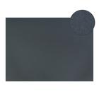 Картон цветной, Двусторонний: текстурный/гладкий, 210 х 297 мм, Sadipal Fabriano Elle Erre, 220 г/м, серый, FERRO