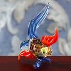 """Сувенир из стекла миди """"Рыбка"""", 7 х 2,5 х 7 см"""