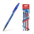 Набор ручек гелевых 3 цвета R-301 ORIGINAL Gel, узел 0.5 мм, чернила: синие, чёрные, красные, длина линии письма 600м, европодвес