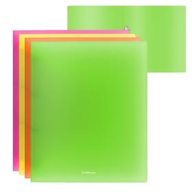 Папка на 2 кольцах А4, 35мм, пластиковая Erich Krause NEON, микс, EK 42986 Ош