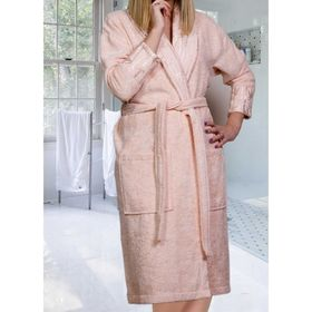 Махровый халат Eliza, размер M, цвет персиковый