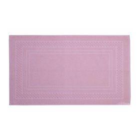 Коврик для ванной Chequers, размер 40x60 см, цвет розовый