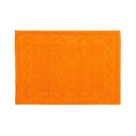 Полотенце для ног Hayal, размер 50 × 70, оранжевый
