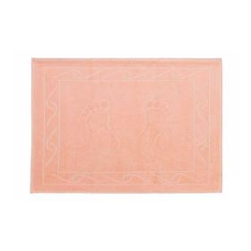 Полотенце для ног Hayal, размер 50x70, персиковый
