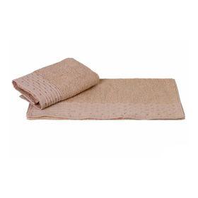Полотенце Gofre, размер 50 × 90 см, бежевый