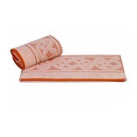 Полотенце Hurrem, размер 50 × 90 см, персиковый