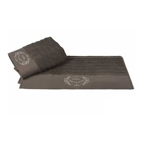 Полотенце Zafira, размер 50 × 90 см, коричневый