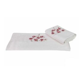 Полотенце Beyra, размер 50 × 90 см, кремовый