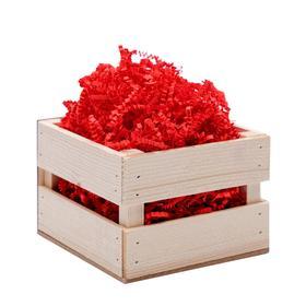Наполнитель бумажный красный-коралловый, 50 г Ош