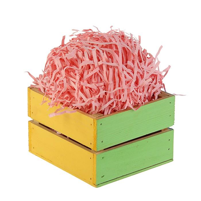 Анонс-изображение товара наполнитель бумажный нежно-розовый,  50 г   2964989