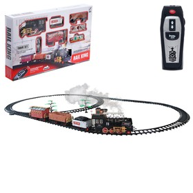 Railway Classics, radio control, light and sound, with the smoke, battery powered