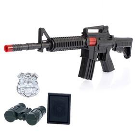 Набор полицейского «М16», 4 предмета