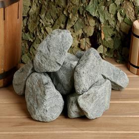 Камень для бани 'Родингит' обвалованный, коробка 20кг, фракция 60-150мм Ош