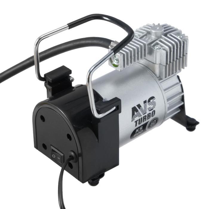 Компрессор автомобильный AVS KS600, 12 В, 23 А, 60 л/мин