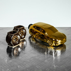 """Набор винный """"Внедорожник"""", 3 предмета, 0,4 л, золото, микс"""