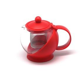 Чайник заварочный, объём 0,75 л, с фильтром