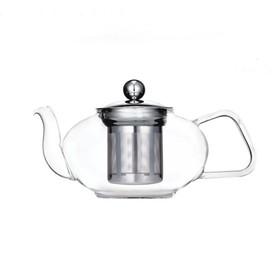 Чайник заварочный, объём 0,8 л, с фильтром