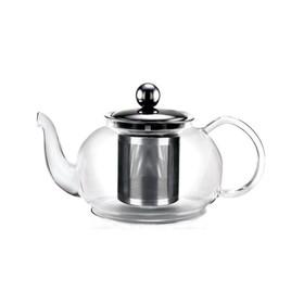 Чайник заварочный, объём 0,5 л, с фильтром