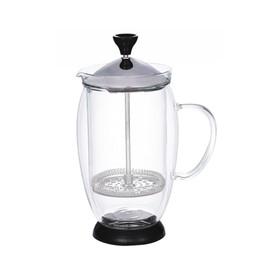 Кофейник френч-пресс с двойной колбой, 0,6 л