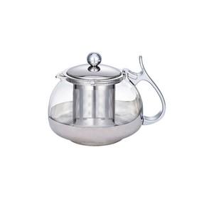 Чайник заварочный, объём 0,7 л, с фильтром