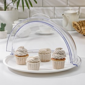 Dish with a lid for baking