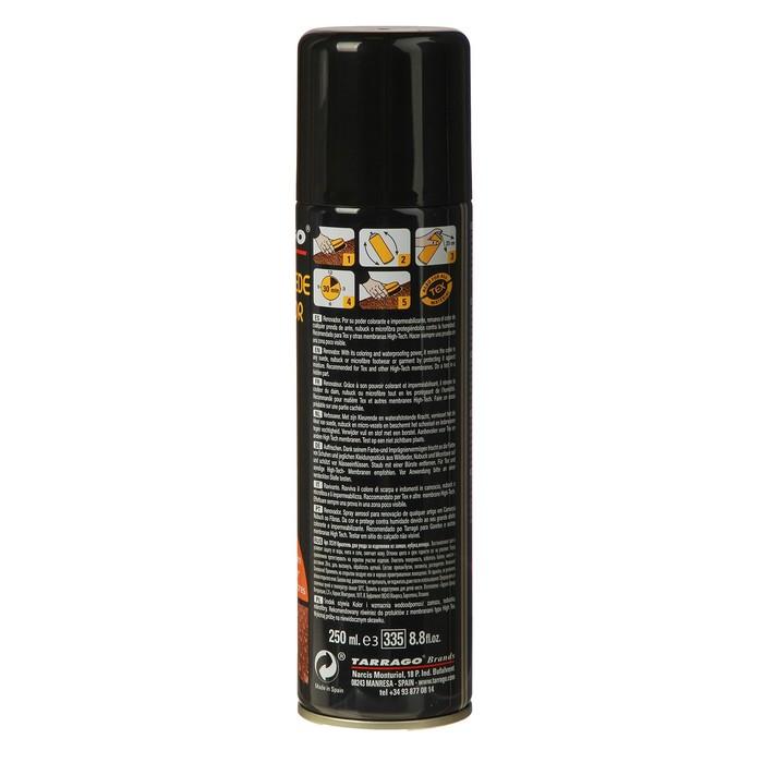 Краска для замши Tarrago Nubuk Suede Renovator 018, цвет чёрный, 250 мл