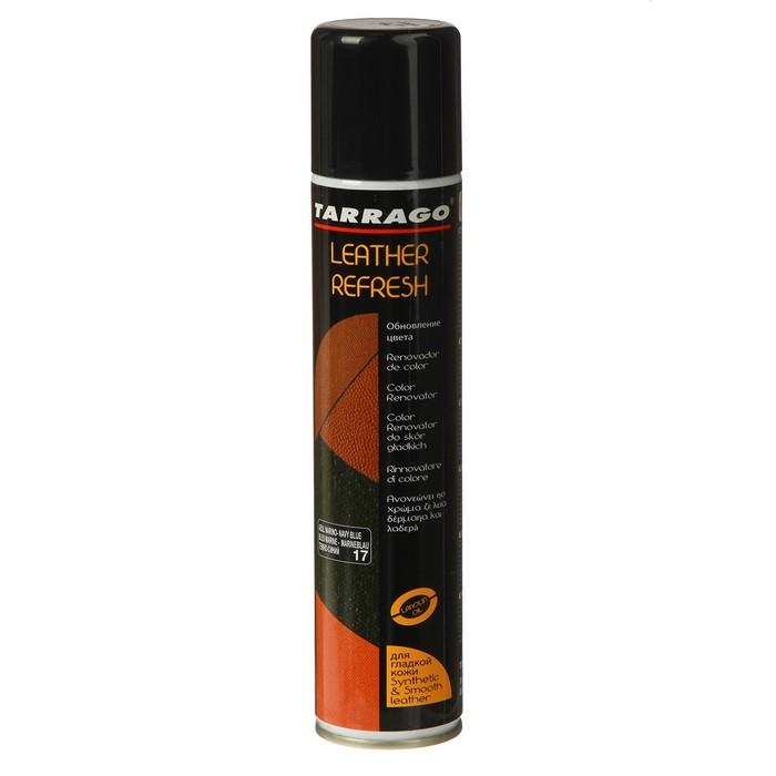 Краска для кожи Tarrago Leather Refresh 017, ТСS20-017, Темно-синий, 200 мл