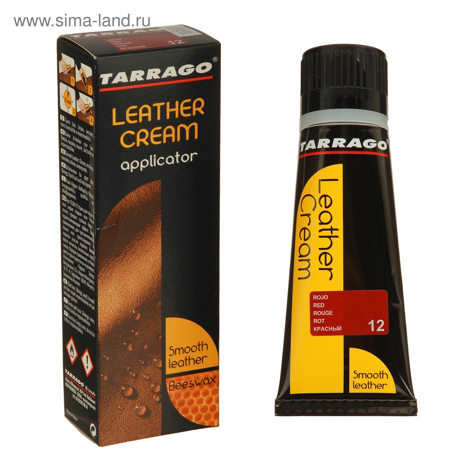 93d59eb5 Крем для обуви Tarrago Leather Cream 012, ТС087/75-012, Красный ...