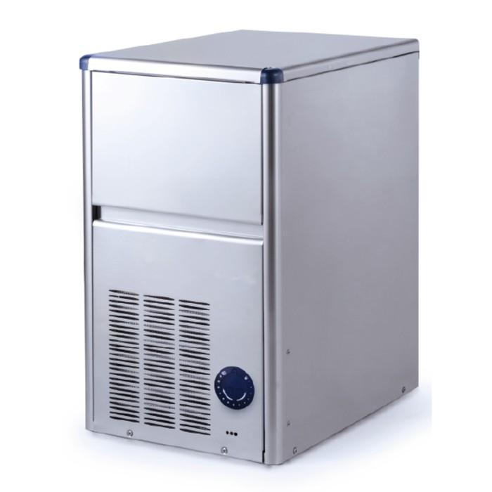 Льдогенератор Gemlux GM-IM18SDE WS, кускового льда (пальчики), 15 кг/сутки, хранение 4 кг