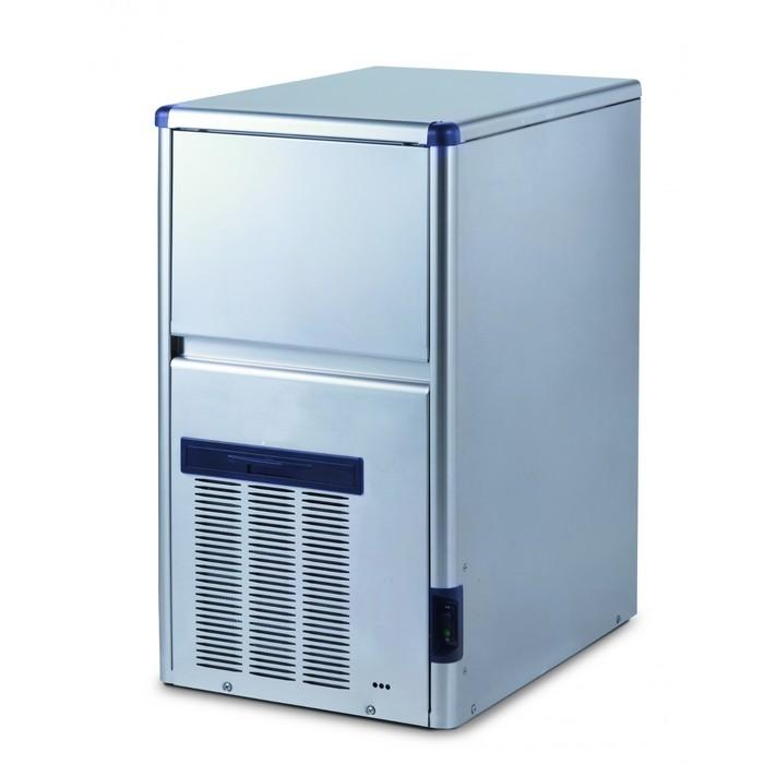 Льдогенератор Gemlux GM-IM30SDE WS, кускового льда (пальчики), 28 кг/сутки, хранение 6 кг