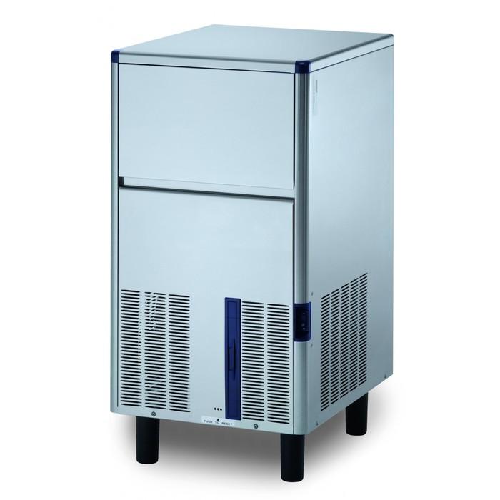 Льдогенератор Gemlux GM-IM50SDE WS, кускового льда (пальчики), 45 кг/сутки, хранение 17 кг