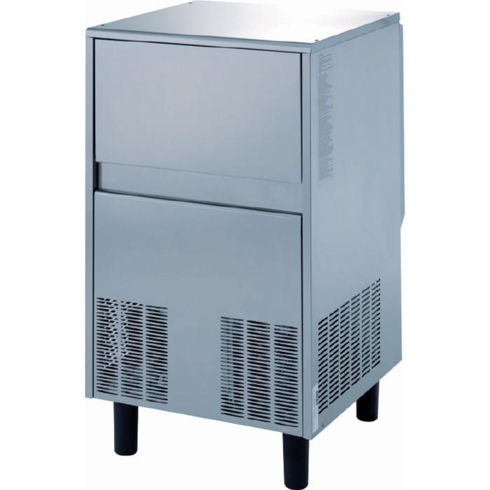 Льдогенератор Gemlux GM-IM80SPR WS, чешуйчатого льда,  73 кг/сутки, хранение 25 кг