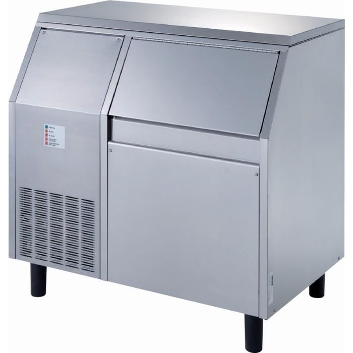Льдогенератор Gemlux GM-IM120SPR WS, чешуйчатого льда, 120 кг/сутки, хранение 55 кг