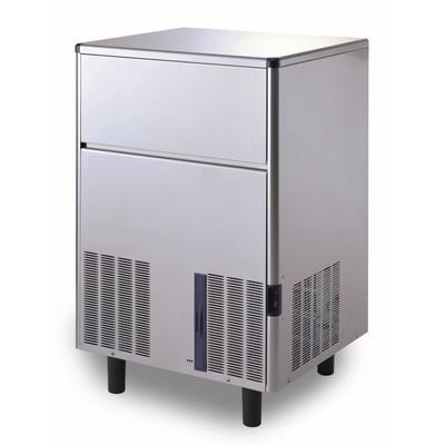 Льдогенератор Gemlux GM-IM84SDE WS, кускового льда (пальчики), 90 кг/сутки, хранение 30 кг