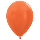 "Шары латексные 12"", металл, набор 50 шт., 3,3 г, цвет оранжевый"
