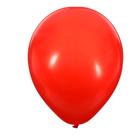 """Шар латексный 12"""", пастель, набор 50 шт., 3,3 г, цвет красный"""