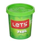 Тесто для лепки 150 гр, крышка-форма, цвет зеленый