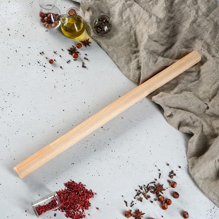Скалка деревянная для теста, 65 см